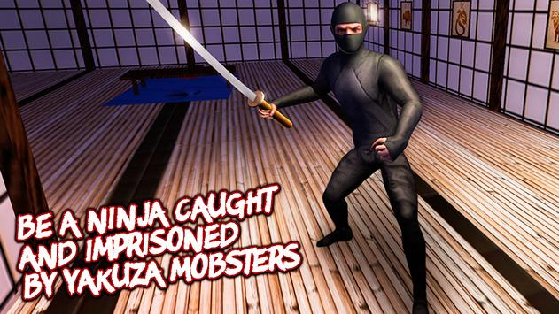 Ninja Prison Break Fighting 3D apk screenshot