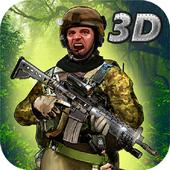 Jungle Commando 3D: Shooter 2 icon