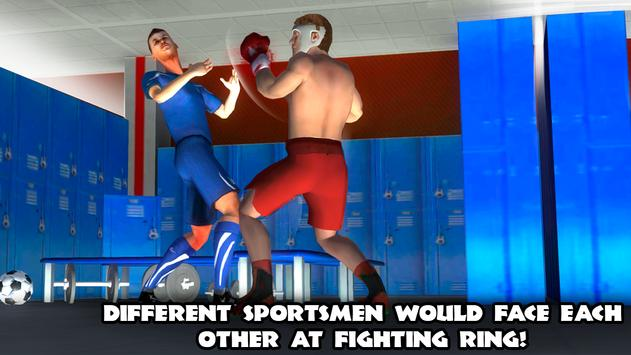 Athlete Mix Fight 3D poster