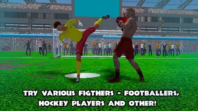 Athlete Mix Fight 3D screenshot 1