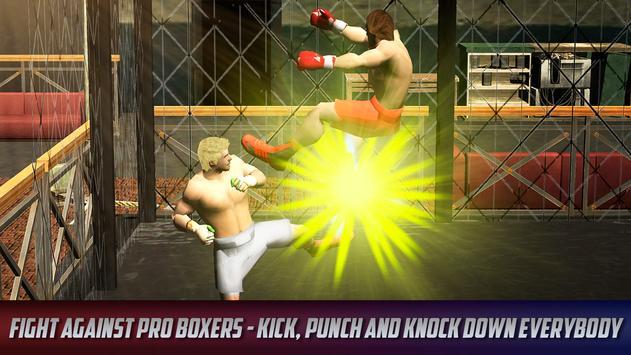 Thai Box Fighting Tiger 3D screenshot 2