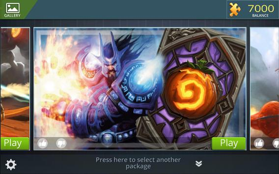 Hearthstone Jigsaw Puzzles apk screenshot