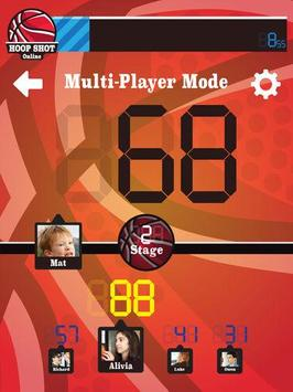 HOOP SHOT ONLINE apk screenshot