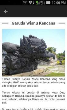 Info Wisata di Bali apk screenshot
