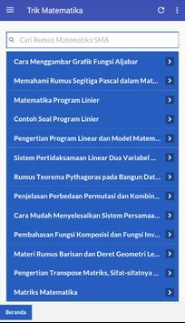 Trik Matematika SD-SMP-SMA screenshot 5