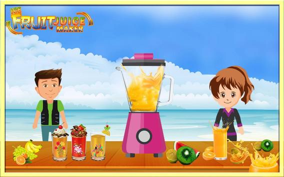 Icy Fruit Juice Maker poster