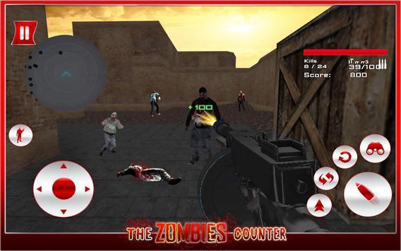 The Zombies Counter apk screenshot