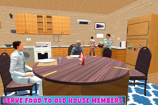 Grandmaa Old House Adventure captura de pantalla 2