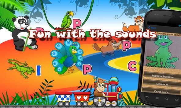 Kids Quiz - Fun With Sounds apk screenshot