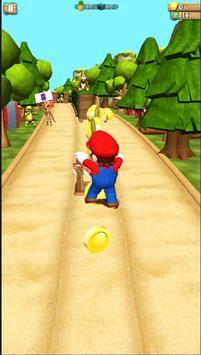Super Subway MARIO - Gold Temple Surf Run screenshot 3