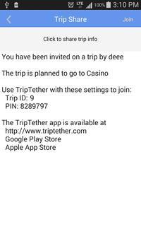 TripTether apk screenshot