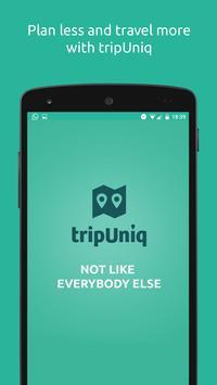tripUniq - custom CityBreaks poster