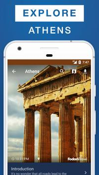 Athens Travel Guide poster