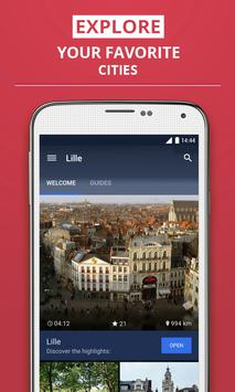 Lille Travel Guide poster