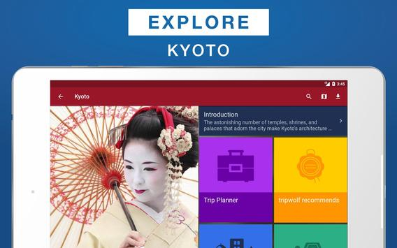 Kyoto Travel Guide apk screenshot