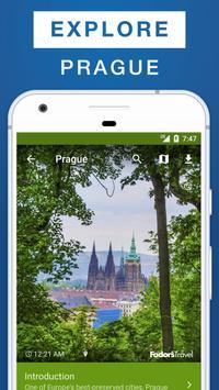 Prague City Guide poster