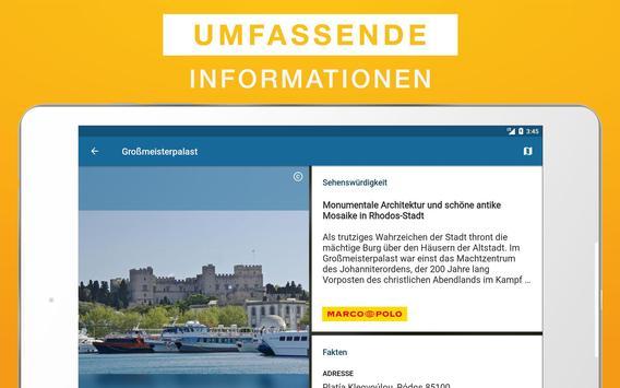 Rhodos Reiseführer apk screenshot