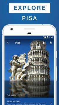 Pisa Travel Guide poster
