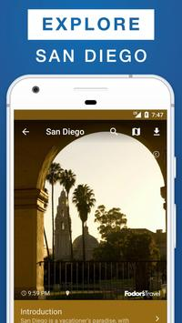 San Diego Travel Guide poster