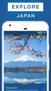 Japan Travel Guide poster