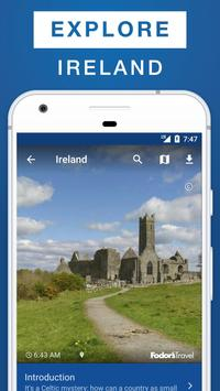 Ireland Travel Guide poster