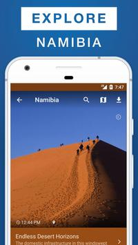 Namibia Travel Guide poster