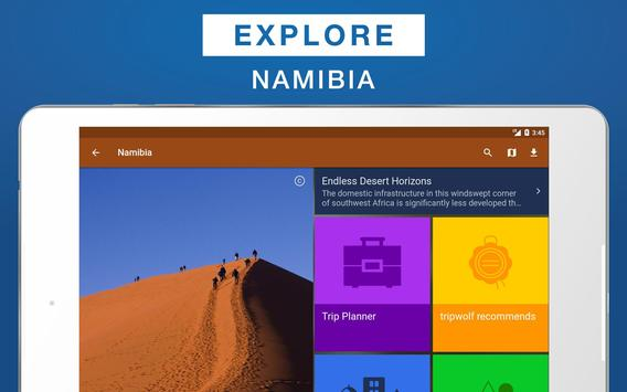 Namibia Travel Guide apk screenshot