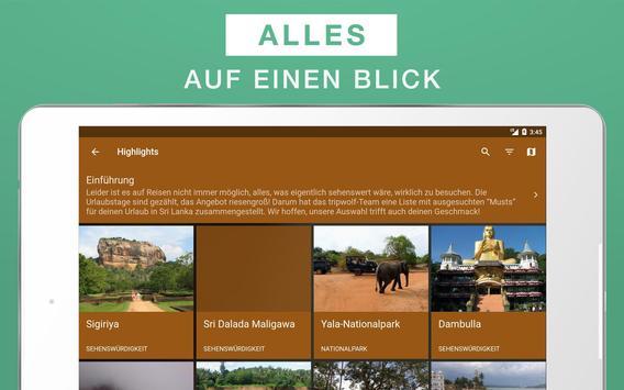 Sri Lanka Reiseführer apk screenshot