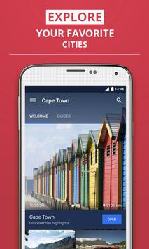 Cape Town Travel Guide poster