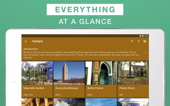 Marrakesh Travel Guide apk screenshot