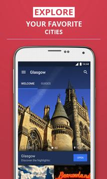 Glasgow Travel Guide poster