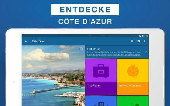 Côte d'Azur Reiseführer apk screenshot