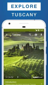 Tuscany Travel Guide poster