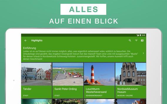 Nordseeküste Reiseführer apk screenshot