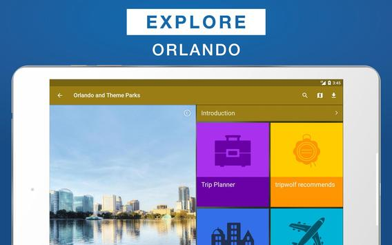 Orlando and Theme Parks Guide apk screenshot