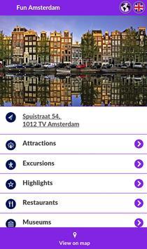 Fun Amsterdam poster