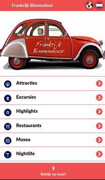 Frankrijk Binnendoor poster
