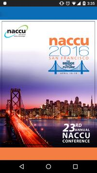 23rd Annual NACCU Conference poster