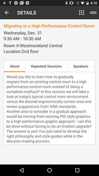 Ovation Users' Group Conf 2018 apk screenshot