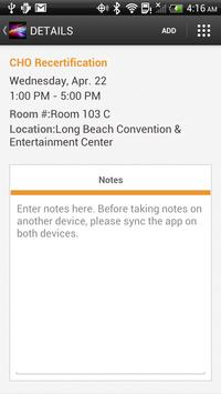 AAHOA Convention & Trade Show apk screenshot