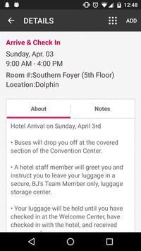 BJ's TM Conference 2016 apk screenshot
