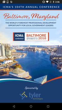104th ICMA Annual Conference poster