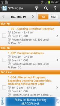 2015 SRCD Biennial Meeting apk screenshot