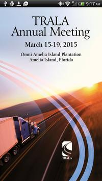 TRALA 2015 Annual Meeting poster
