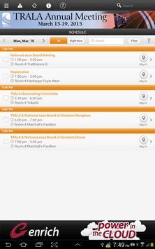 TRALA 2015 Annual Meeting apk screenshot