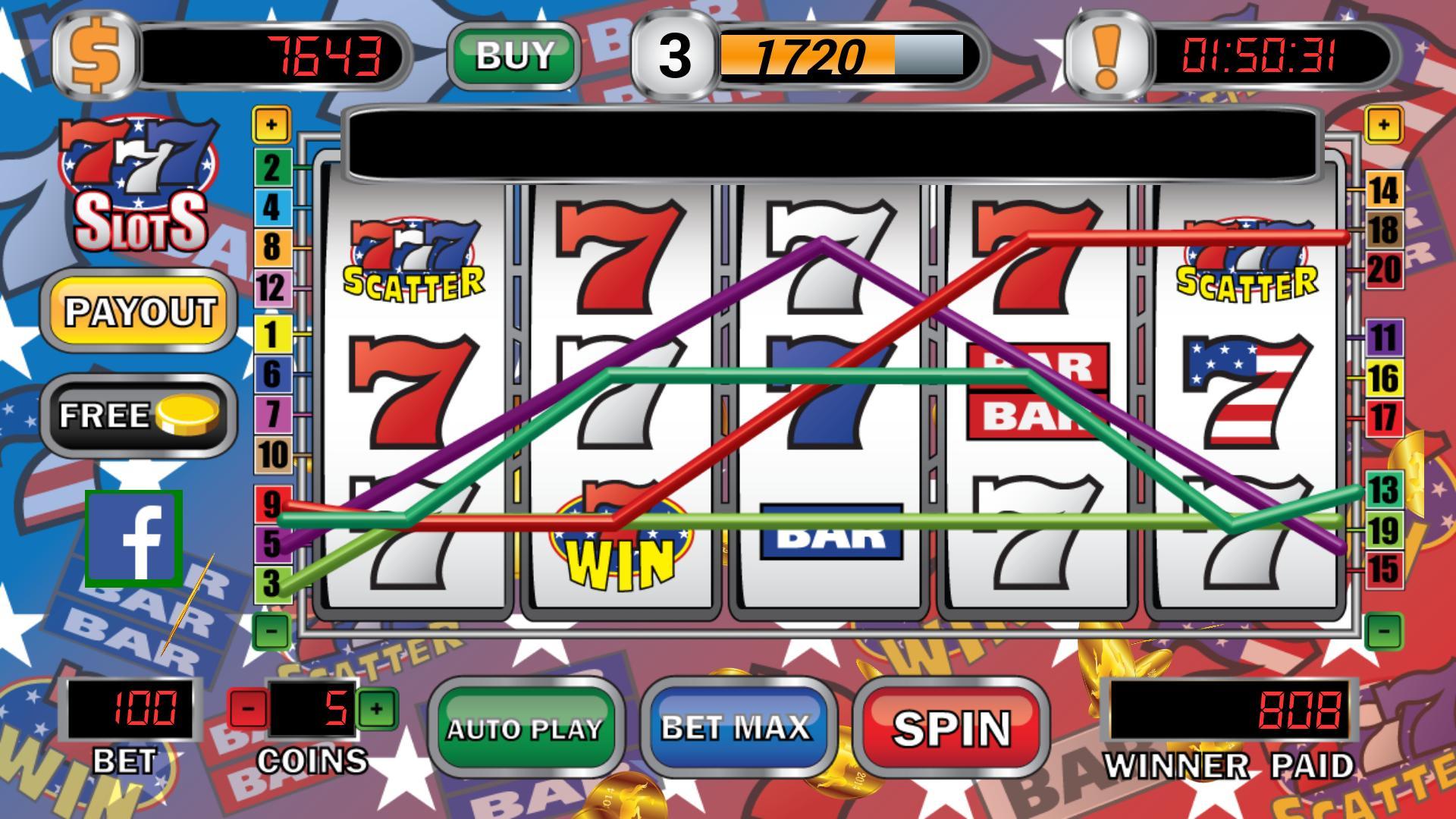 Triple 7 Cash Slot Machine For Android Apk Download