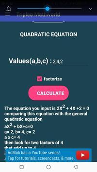 Tripleo Mathworld screenshot 1