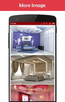 Design Ceiling Bedroom poster