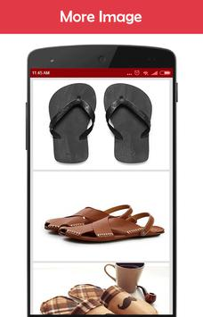 Men's sandals Idea screenshot 2