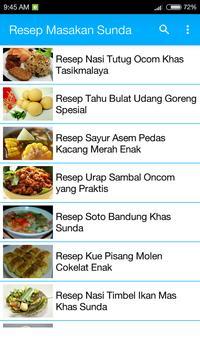Resep Masakan Sunda screenshot 1